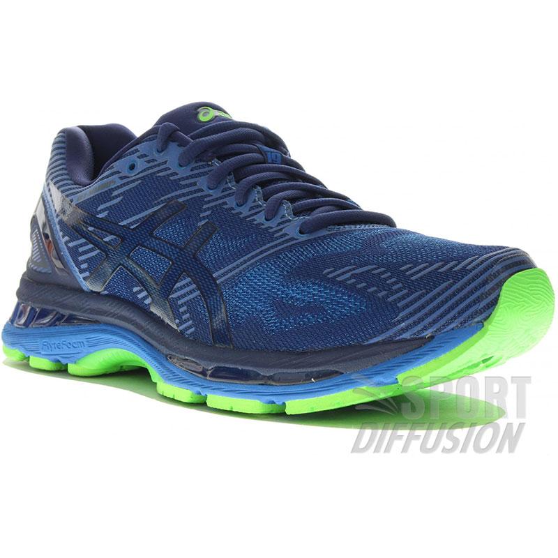 asics chaussures de running basket gel nimbus 19 homme pe17