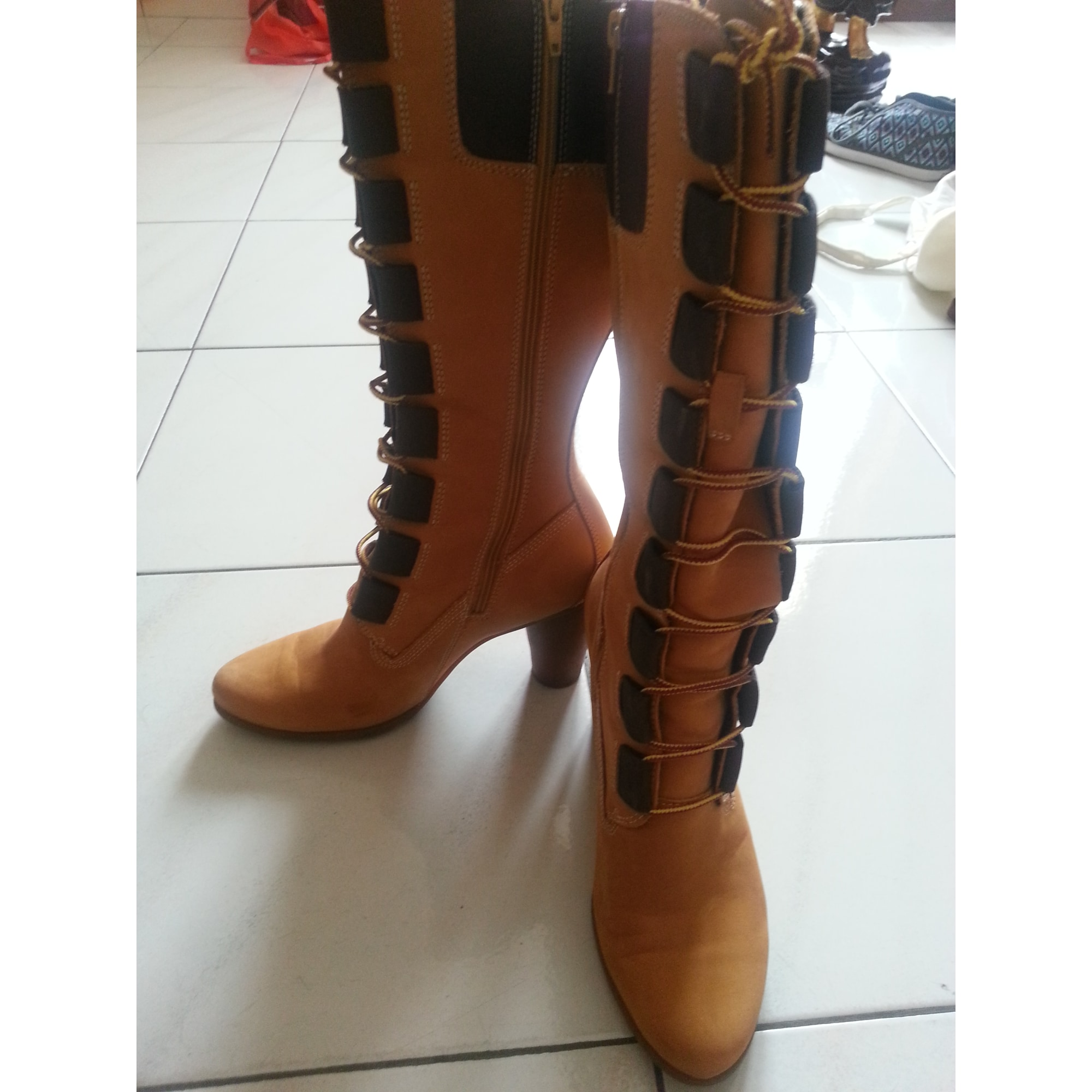 timberland chaussures femme botte